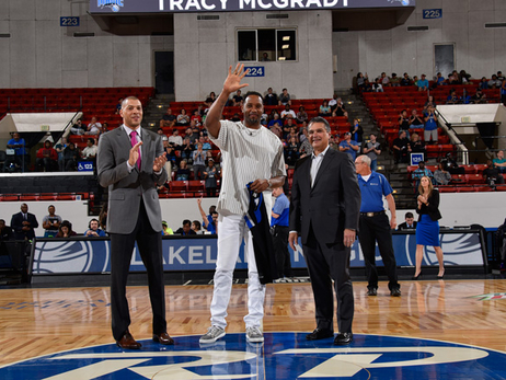 Tracy McGrady Sees Lakeland Magic as Inspiration for Community