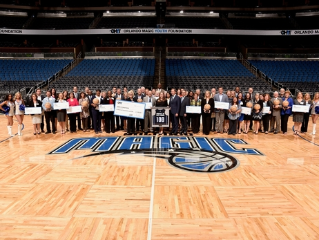 Orlando Magic Youth Foundation Distributes $1 Million to 27 Central Florida Organizations
