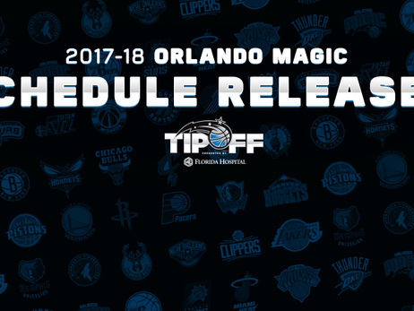 Magic's 2017-18 Schedule Released