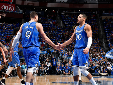 Vucevic and Gordon Have Blossomed Into Terrific Frontcourt Duo