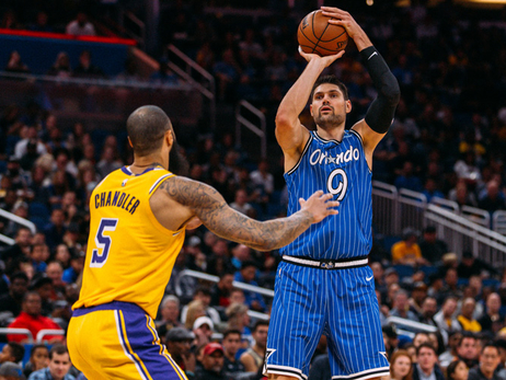 Vucevic Named NBA Eastern Conference Player of the Week