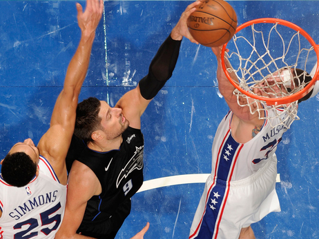 Vucevic Outstanding Against Embiid, Sixers