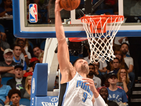 Nikola Vucevic Starting to Get Strength Back in Broken Hand