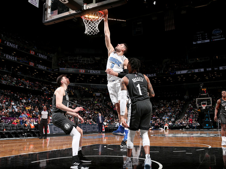 Photos and Stats: Magic vs. Nets