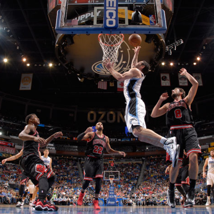 Magic vs. Bulls (01/02/13)