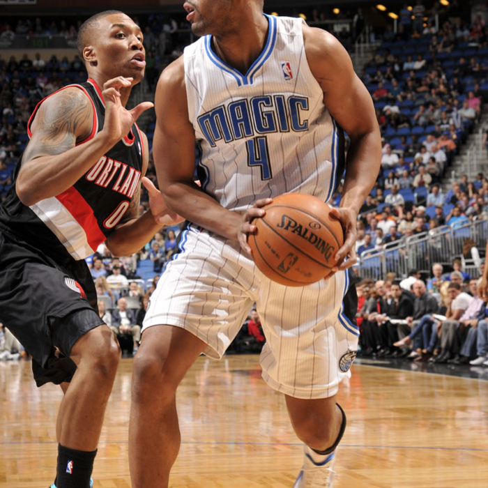 Magic vs. Trail Blazers (02/10/13)