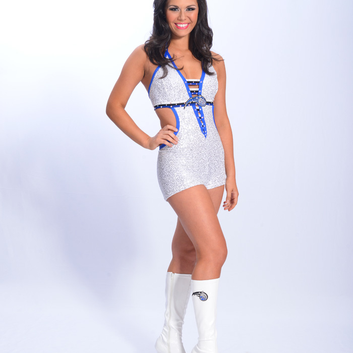2012-13 Magic Dancers: Alexa