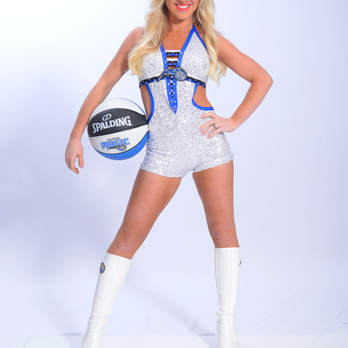 2012-13 Magic Dancers: Brittany