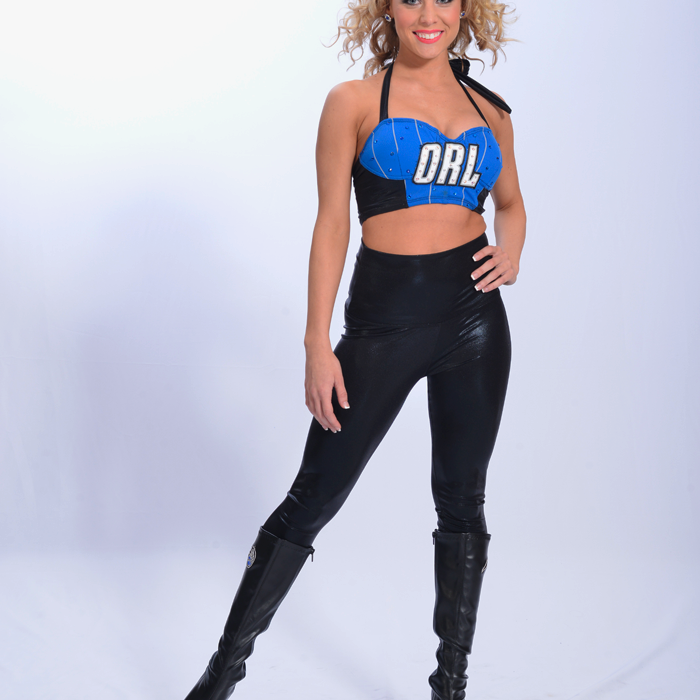 2012-13 Magic Dancers: Kori