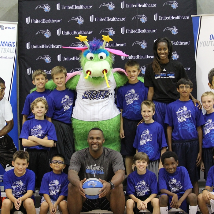 2012 Glen Davis Orlando Magic Basketball Camp - Teams