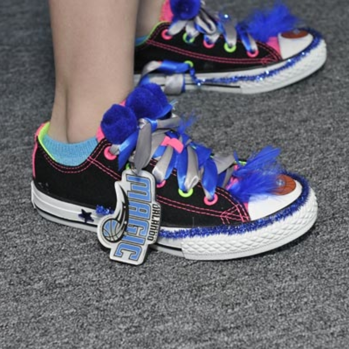 2014 OMYF Black Tie and Tennies Gala: The Shoes