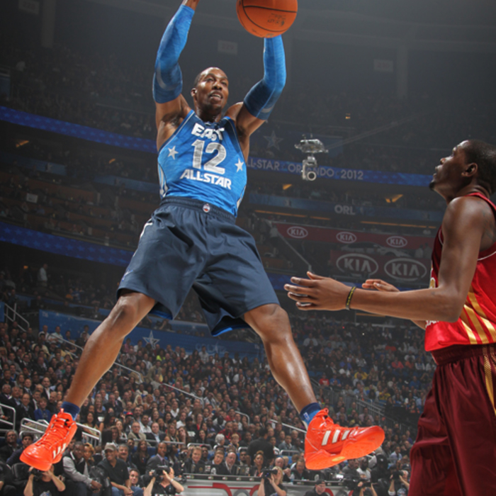 Photos: Dwight Howard in 2012 All-Star Game