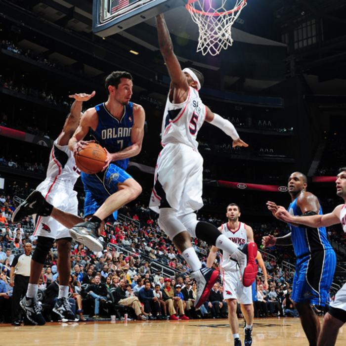Photos: Magic at Hawks (2/23/12)