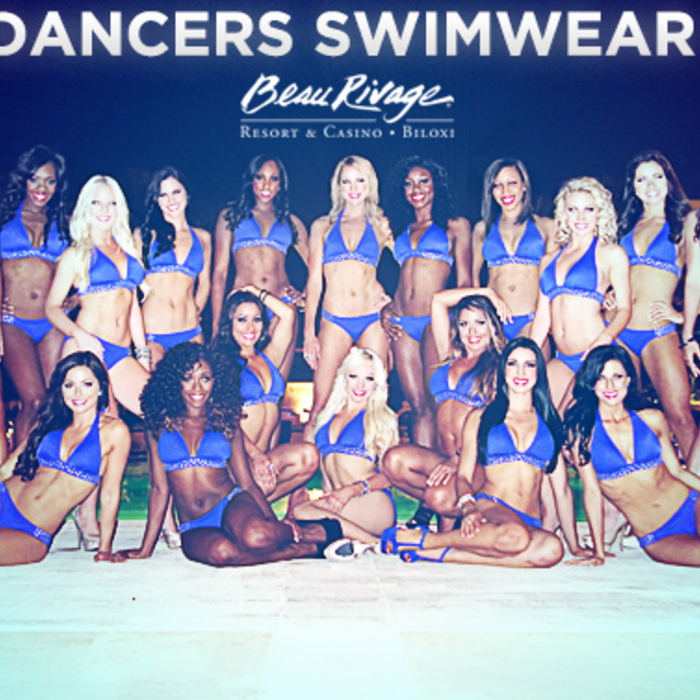 2013-14 Orlando Magic Swimwear Photo Shoot presented by Beau Rivage