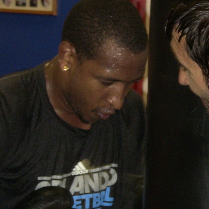 Photos: Boxing with Duhon and Clark
