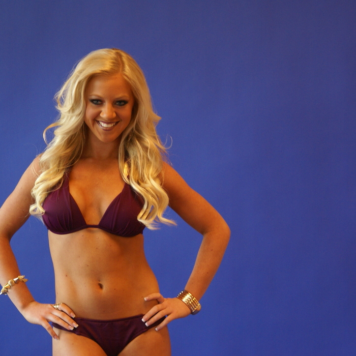 Swimwear Photo Shoot Behind the Scenes: Brittany