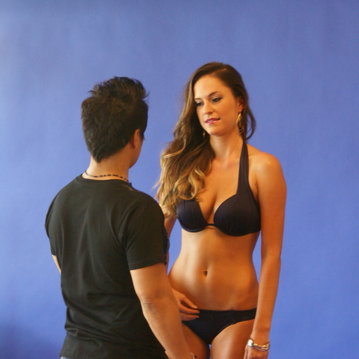 Swimwear Photo Shoot Behind the Scenes: Candace