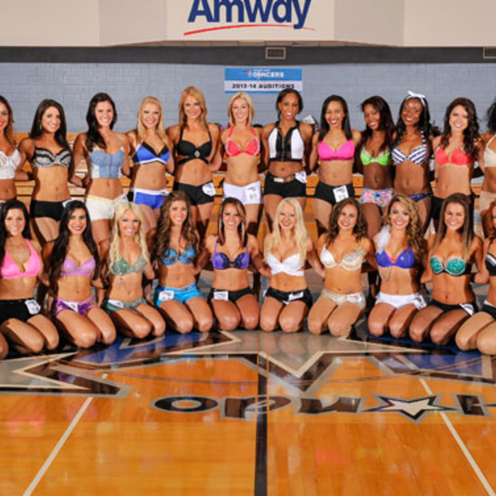 2013-14 Orlando Magic Dancer Finalists