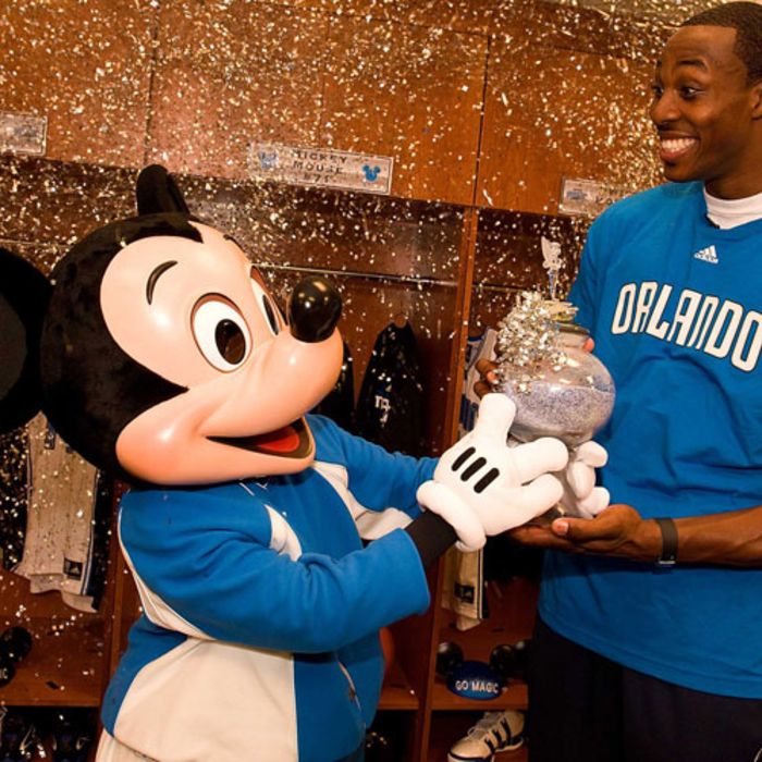 Dwight Howard Teams Up with Mickey Mouse
