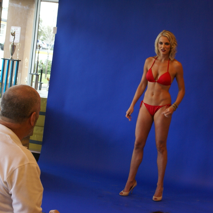 Swimwear Photo Shoot Behind the Scenes: Emmy