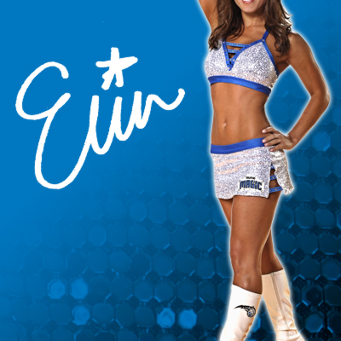 2010-11 Orlando Magic Dancers: Erin