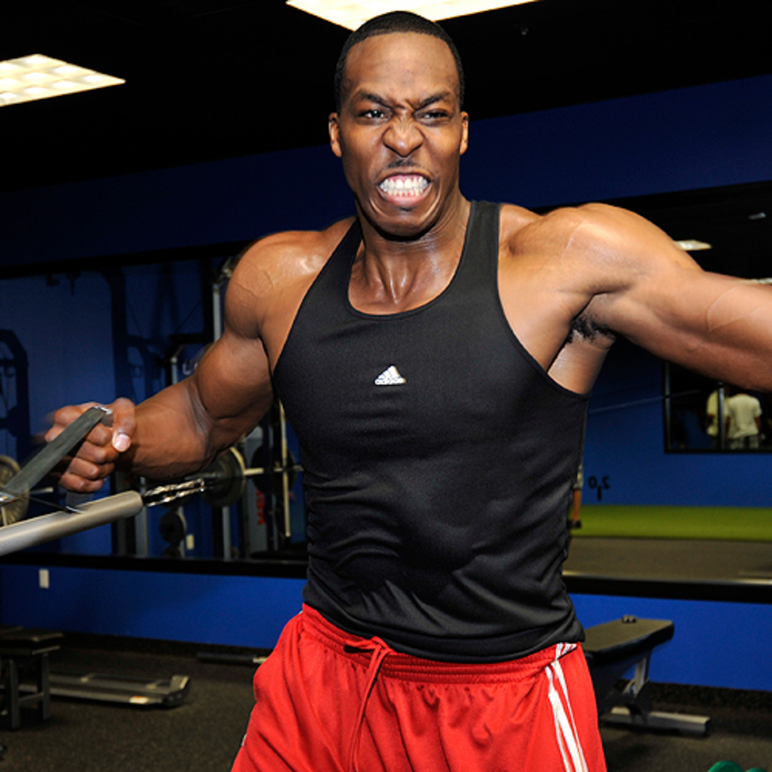 Dwight Howard's Personal Workout
