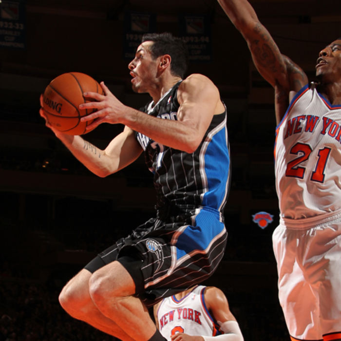 Photos: Magic at Knicks (1/16/12)