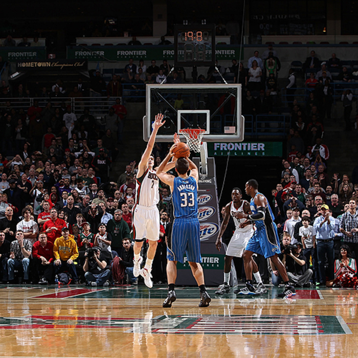 Photos: Magic at Bucks (2/20/12)