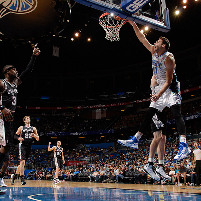 Magic vs. Spurs (10/21/12)