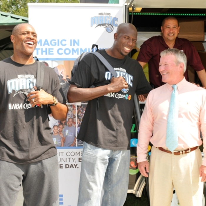 Orlando Magic Hosted Third Annual Back to School Celebration