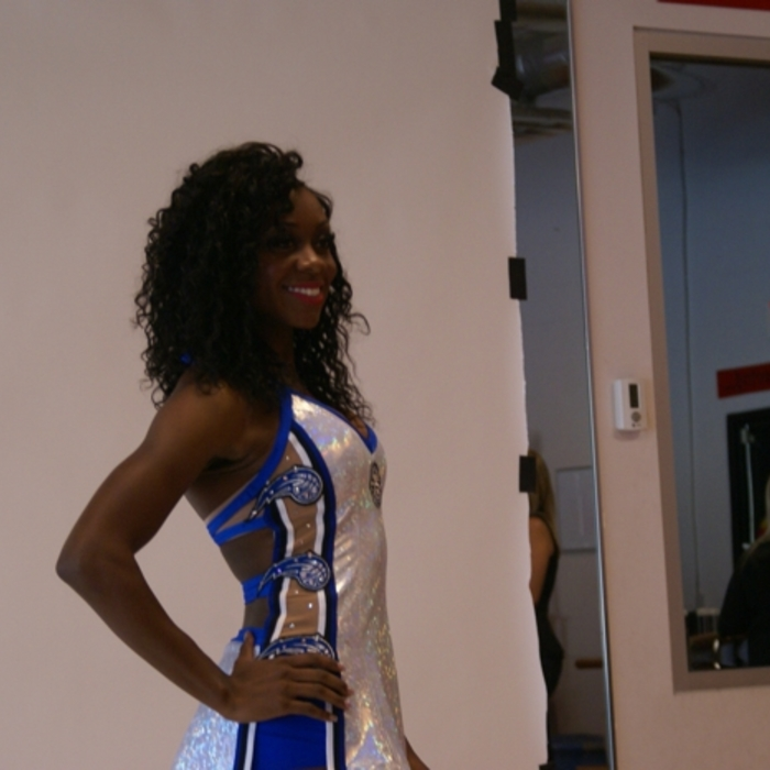 2013-14 Orlando Magic Dancers 25th Anniversary Costume Photo Shoot