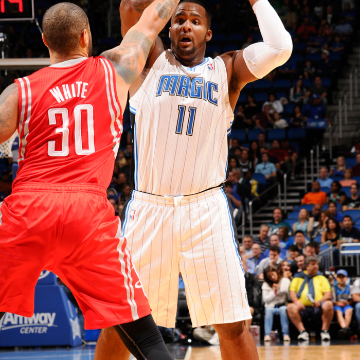 Magic vs. Rockets (10/26/12)