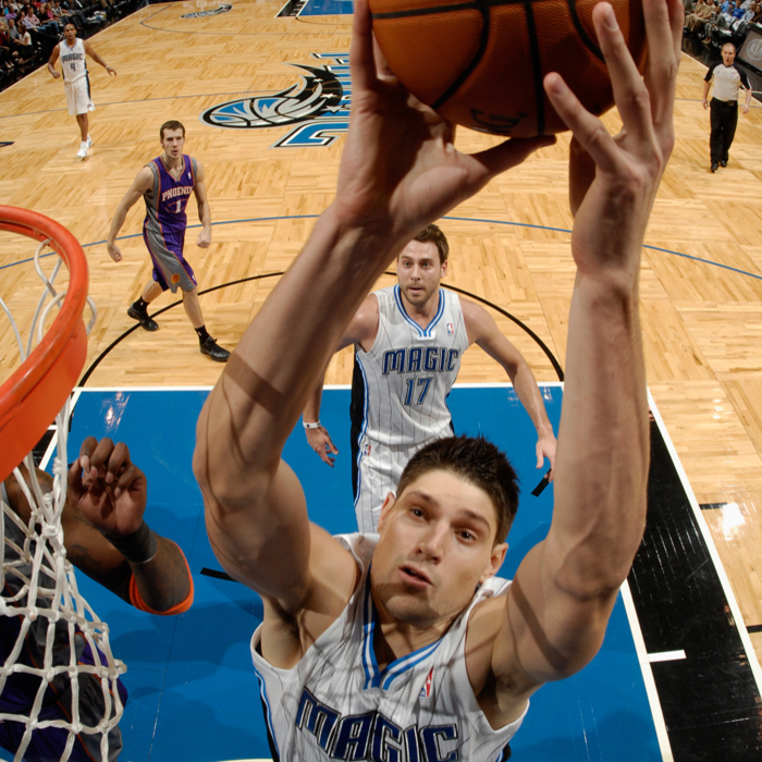 2012-13 Player Photos: Nikola Vucevic