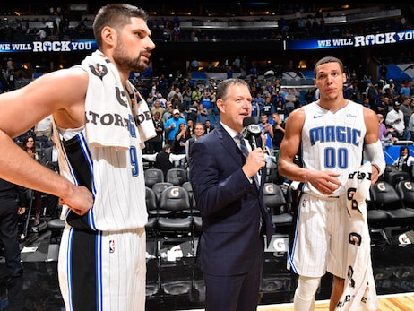 Magic Now Must Find Way to Overcome Injuries to Vucevic and Gordon