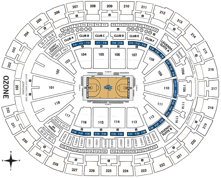 Premium Seating | Orlando Magic