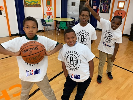 Basketball Academy Clinic at Children of Promise