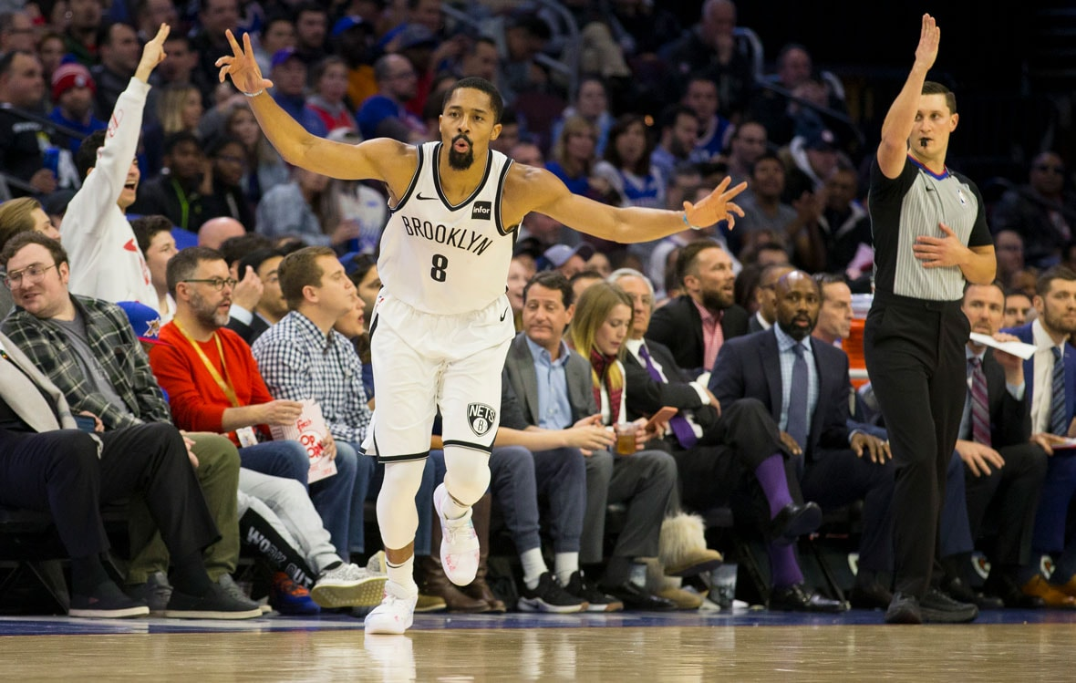 cd66ea380 Brooklyn Nets  Spencer Dinwiddie Hits a New High with 39 Points ...