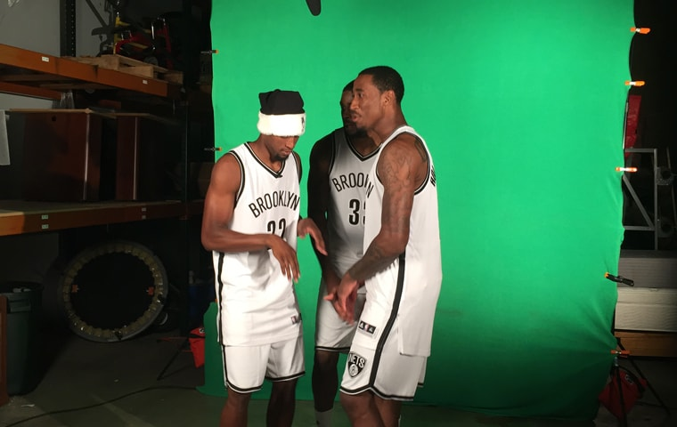 Inside Look: Brooklyn Nets Photo Shoot | Brooklyn Nets