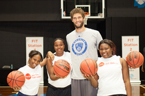 "Coca-Cola and Brook Lopez invite kids to ""Get The Ball Rolling"""