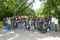 Nets and National Grid Volunteer at Prospect Park - 1