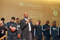 Nets Visit Maimonides Medical Center - 10