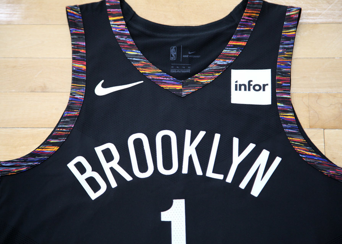 check out 4da10 10cf9 Brooklyn Nets Check Out Their Biggie-Inspired Nike City ...