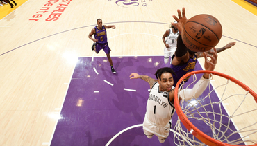 GALLERY: NETS VS. LAKERS