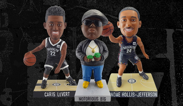 28cb8a634 Brooklyn Nets Announce Special Bobblehead Giveaways