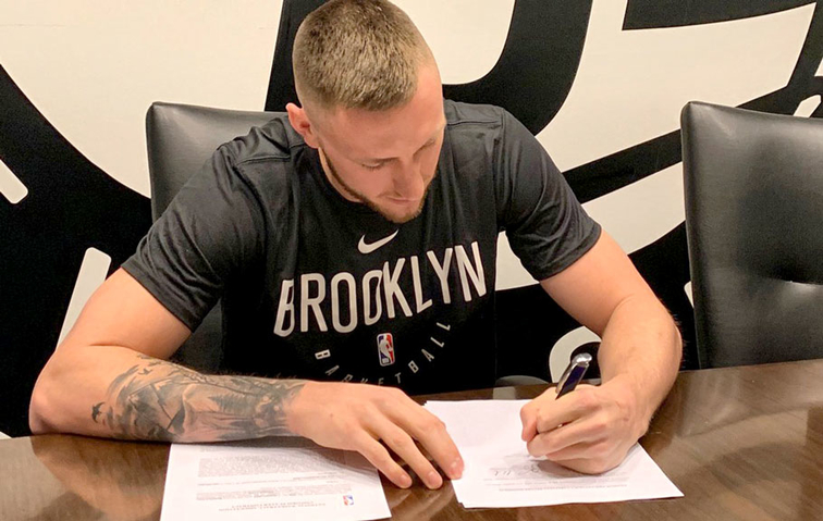 7e4164234 Brooklyn Nets Sign Mitch Creek to 10-Day Contract