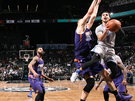 Nets Top Suns for Fourth Straight Win at Home