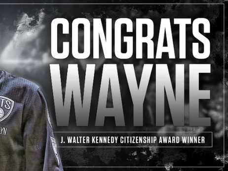 Nets' Wayne Ellington Wins 2015-16 J. Walter Kennedy Citizenship Award