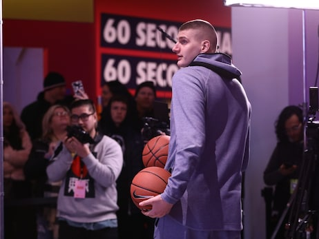 Photo Gallery: Nikola Jokić at Nike event during All-Star weekend in Chicago
