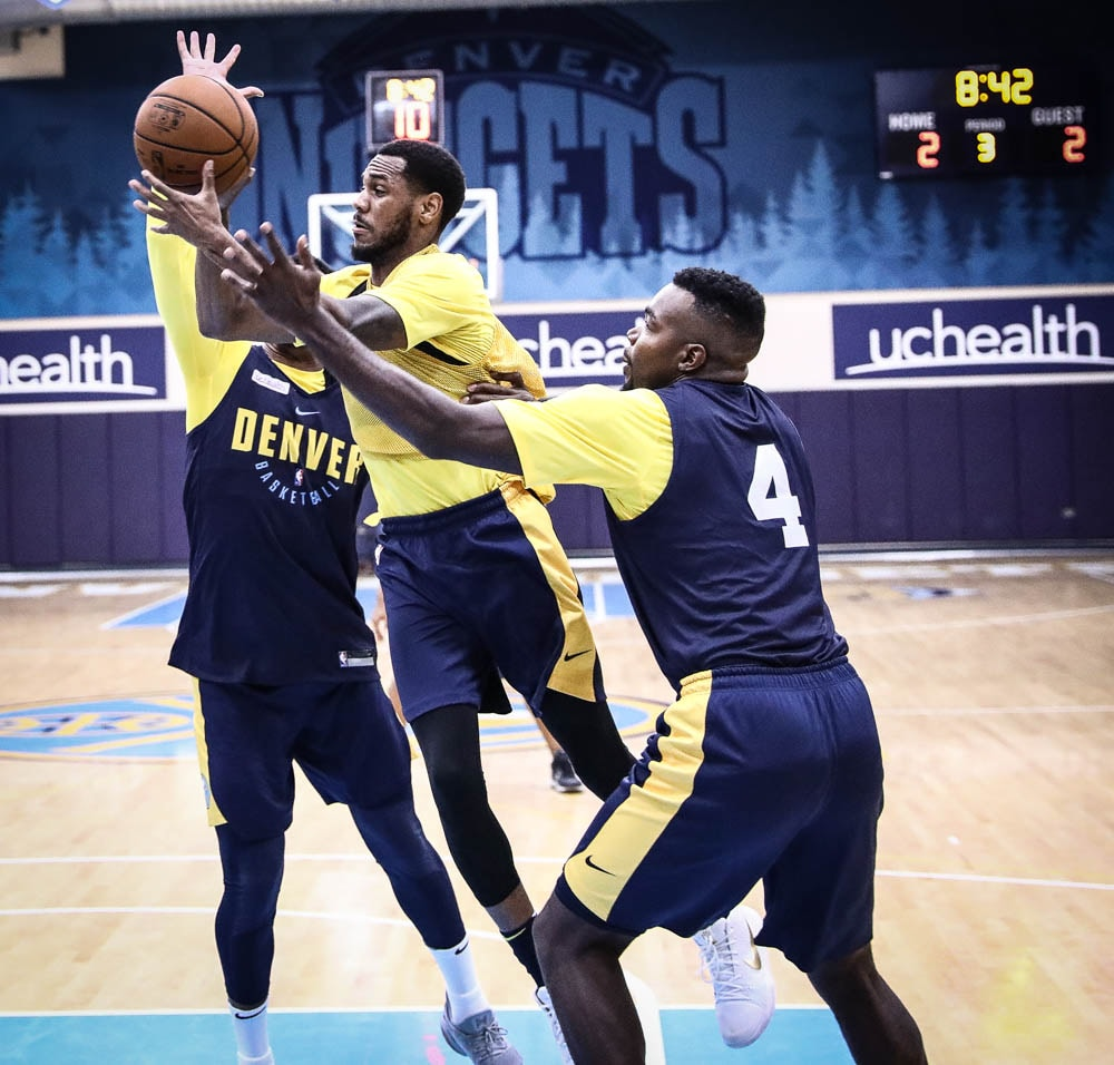 Denver Nuggets Announcers: One Day Closer: Practice Photos