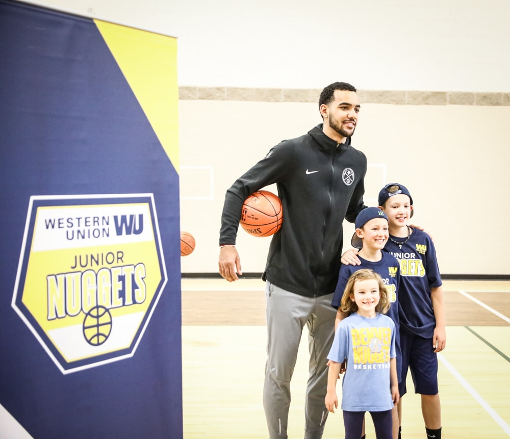 Nuggets Watch Party: Western Union Jr. Nuggets Clinic: Trey Lyles